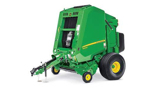 A Look at the Highlights of the John Deere 460M Round Baler