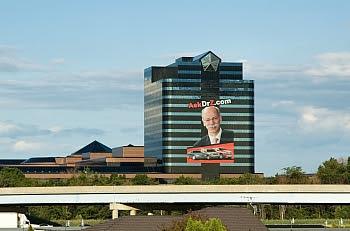 Das Nordamerika-Headquarter von DaimlerChrysler in Auburn Hills © Cornelia Schaible