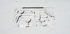 webster high school frieze