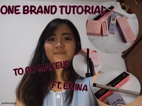 [MAKEUP TUTORIAL] : To Go Makeup ft. Emina