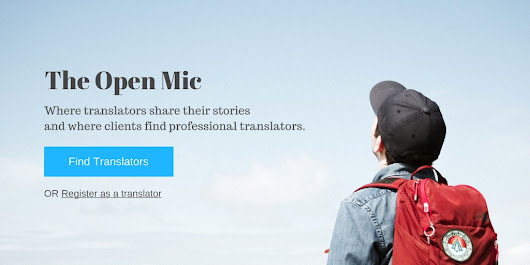 The Open Mic - Find professional freelance translators