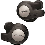Jabra - Elite Active 65t True Wireless Earbud Headphones - Titanium Black