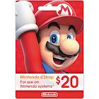 Nintendo eShop Gift Card, $20