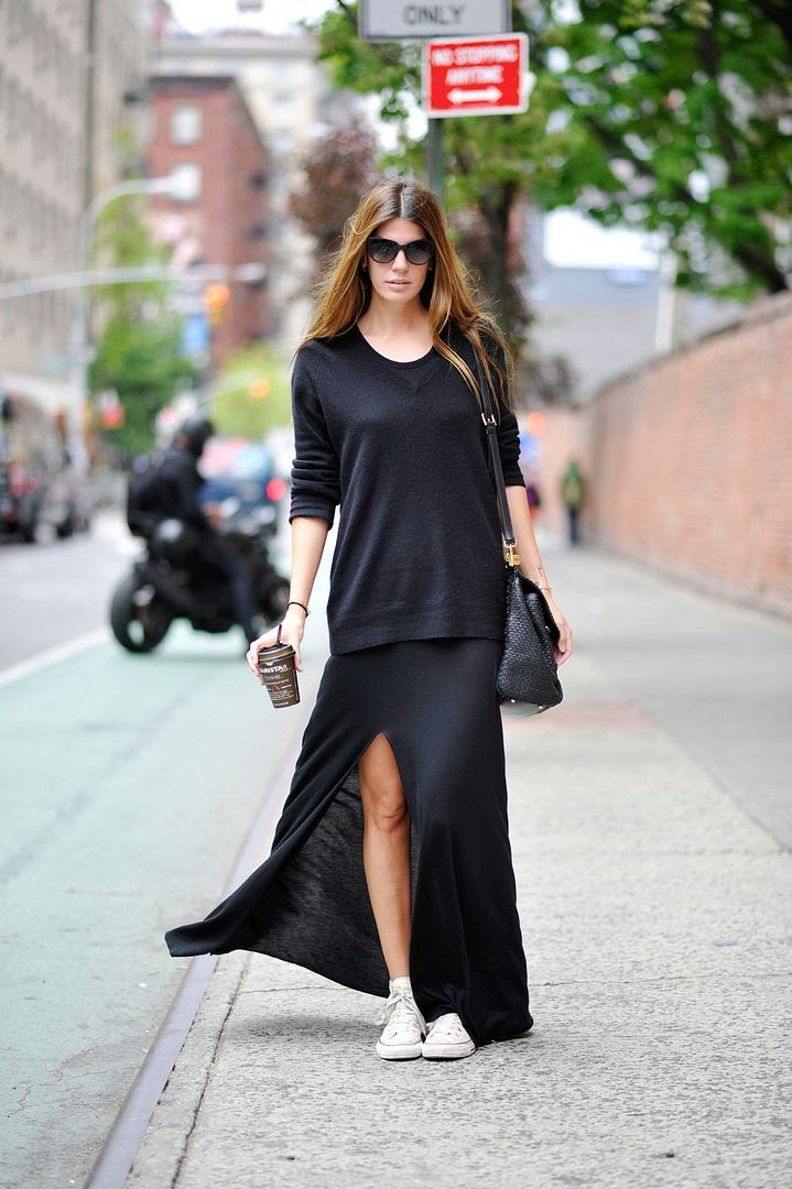 LE FASHION BLOG MUST HAVE WHITE HIGH TOP CONVERSE SNEAKERS MARIE CLAIRE KOREA BIANCA BRANDOLINI OVERSIZED BLACK SWEATER BLACK JERSEY THIGH SLIT MAXI SKIRT BLACK TEXTURED LEATHER BAG LONG OMBRE WAVY HAIR 3 photo LEFASHIONBLOGMUSTHAVEWHITEHIGHTOPCONVERSESNEAKERSMARIECLAIREKOREABIANCABRANDOLINI3.jpg