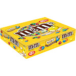 M&M's Peanut Chocolate Candy Singles Size Pouches 1.74 oz 2051072