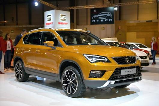 SEAT Ateca showcased at the Madrid Auto Show - Seat Ateca Forums