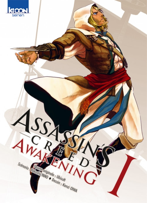 Couverture Assassin's Creed Awakening, tome 1