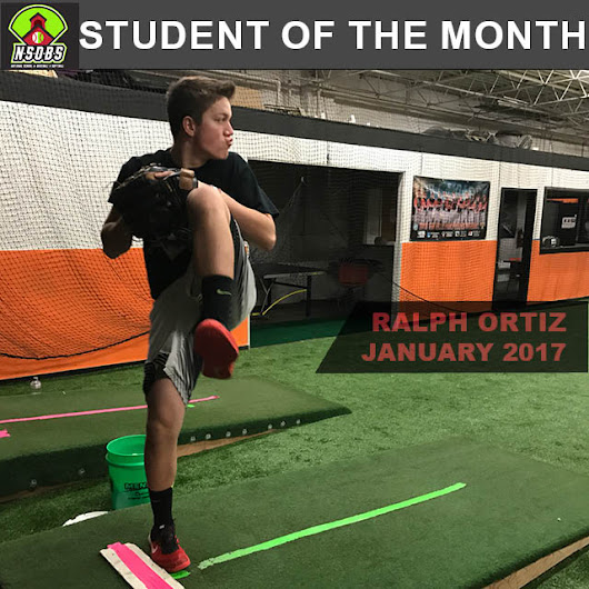 Featured Student of the Month, January 2017 - National School of Baseball