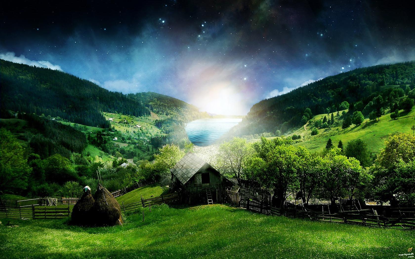 My Sims City Imac Nature Wallpaper Hd Dodskypict