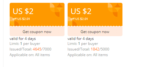 AliExpress: Get $2 Off On Coupon For Free