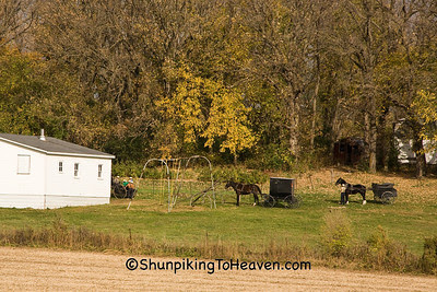 School's Out, Amish School, Filmore County, Minnesota