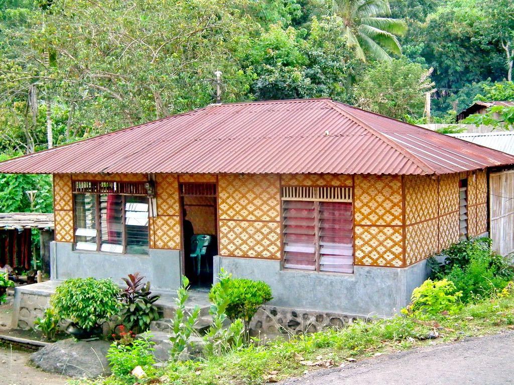 Gambar Rumah Dinding Anyaman Bambu Gambar Con