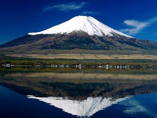 أعلى جبل في اليابان وهو جبل مقدس عند اليابانيين من 4 حروف