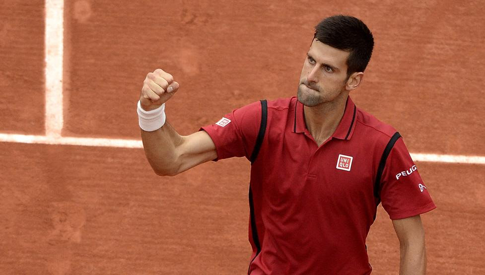 Novak Djokovic, campeón de Roland Garro 2016, al vencer en la final a Andy Murray