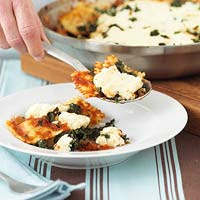 Ravioli Skillet Lasagna - Courtesy of BHG.com