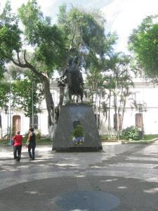 Plaza Bolivar de Los Teques