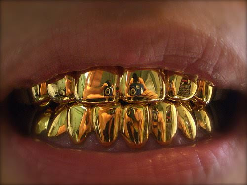 golden teeth