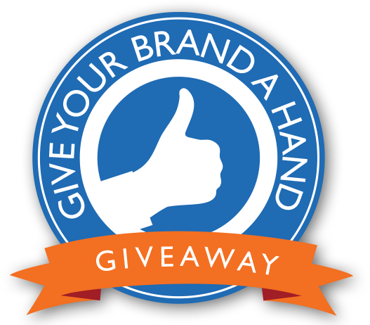 Give Your Brand a Hand Giveaway - Enter Our Monthly Contest