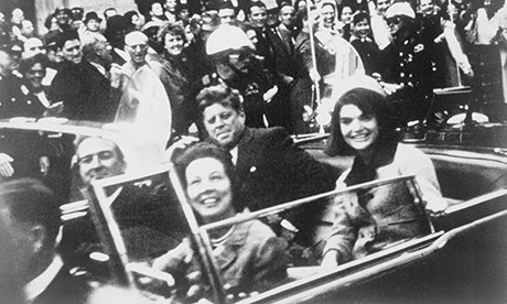 JFK in Dallas moments before he was shot