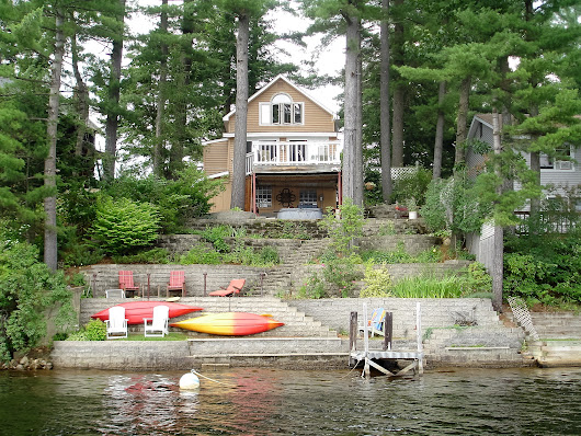 New WATERFRONT Home on Glen Lake in Goffstown NH