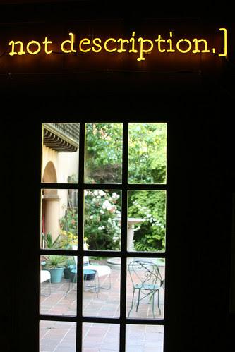 first view of garden