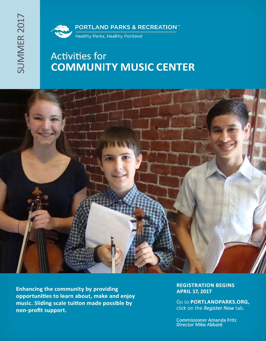 Community Music Center - Summer 2017