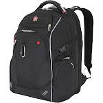 """SwissGear 18"""" Scan Smart TSA Laptop Backpack, Black"""