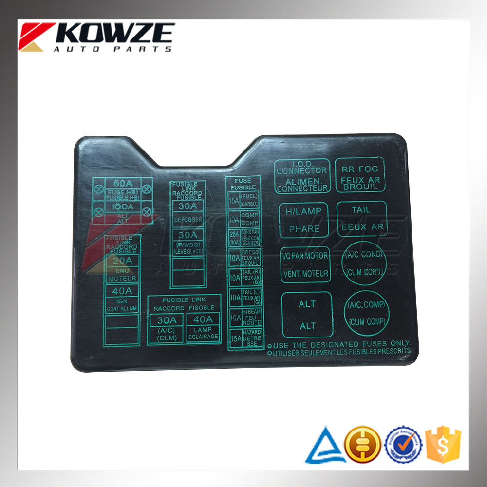 Fuse Box For Mitsubishi Montero - Wiring Diagram