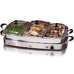 Make-to-Go MA738548 Maxi Matic 3 Tray Buffet Server