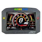 AEM Electron 305703F Carbon Flat Panel Digital Dash Display with Logging & GPS Display