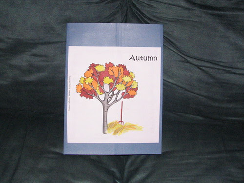 Autumn Lapbook cover by you.