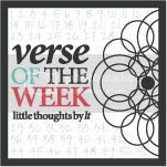 Verse of the Week- Psalm 139:14