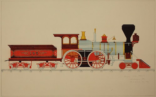 Rogers Loco. Works, Delaware Div, Port Jervis, NY 1866