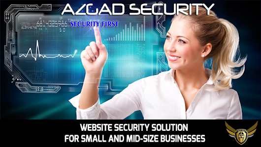 AZGAD SECURITY! Website Security solution service for small businesses