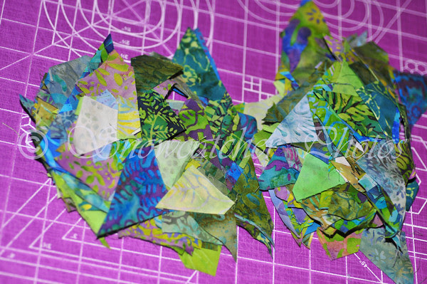 mountains of triangles
