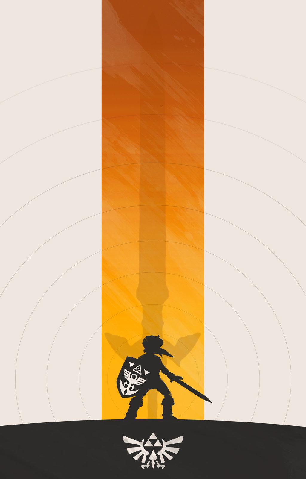 The Legend of Zelda Poster Set byColin Morella