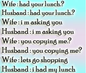 Best Funny Quotes Pictures About Husband And Wife Lets Go For