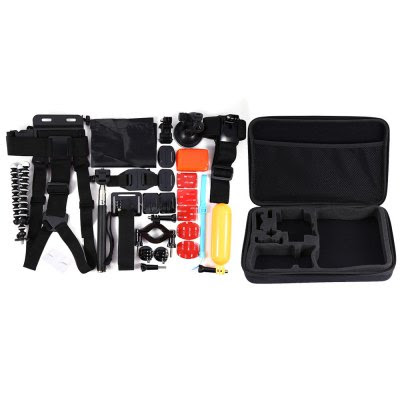 31-in-1 Outdoor Sports Camera Accessories Kit-26.90 Online Shopping| GearBest.com