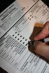 Vote Oregon!