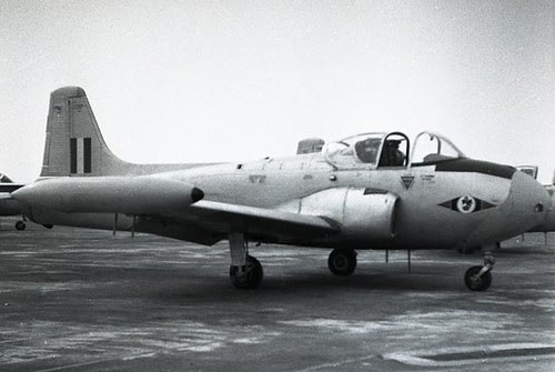web1 Jet Provost Welsh Air Rally 1960