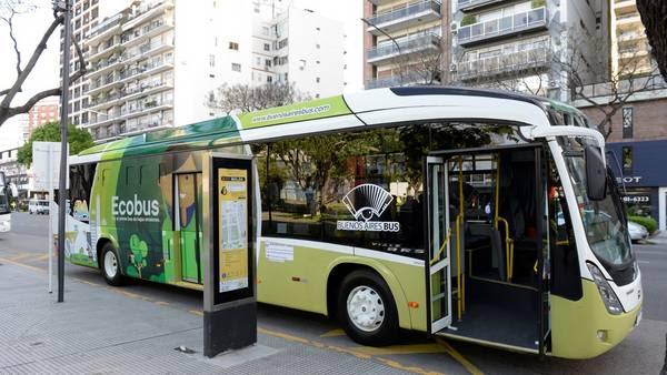 El bus híbrido empezará a recorrer la Ciudad en noviembre.