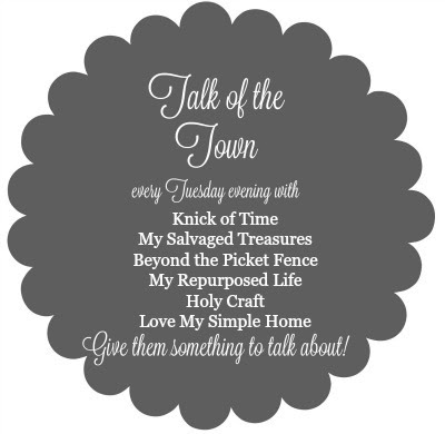 Talk of the Town button - Knick of Time