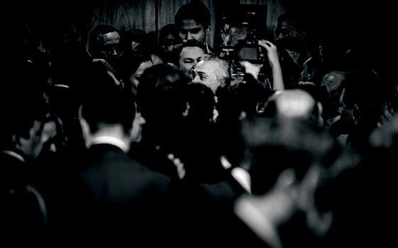 Presidente interino Michel Temer da posse ao seu novo ministério em cerimónia no Palácio do Planalto (Foto: Diego Bresani/ÉPOCA)