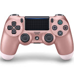 Sony - DualShock 4 Wireless Controller for Sony PlayStation 4 - Rose Gold
