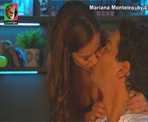 Mariana Monteiro sensual na novela Destinos Cruzados