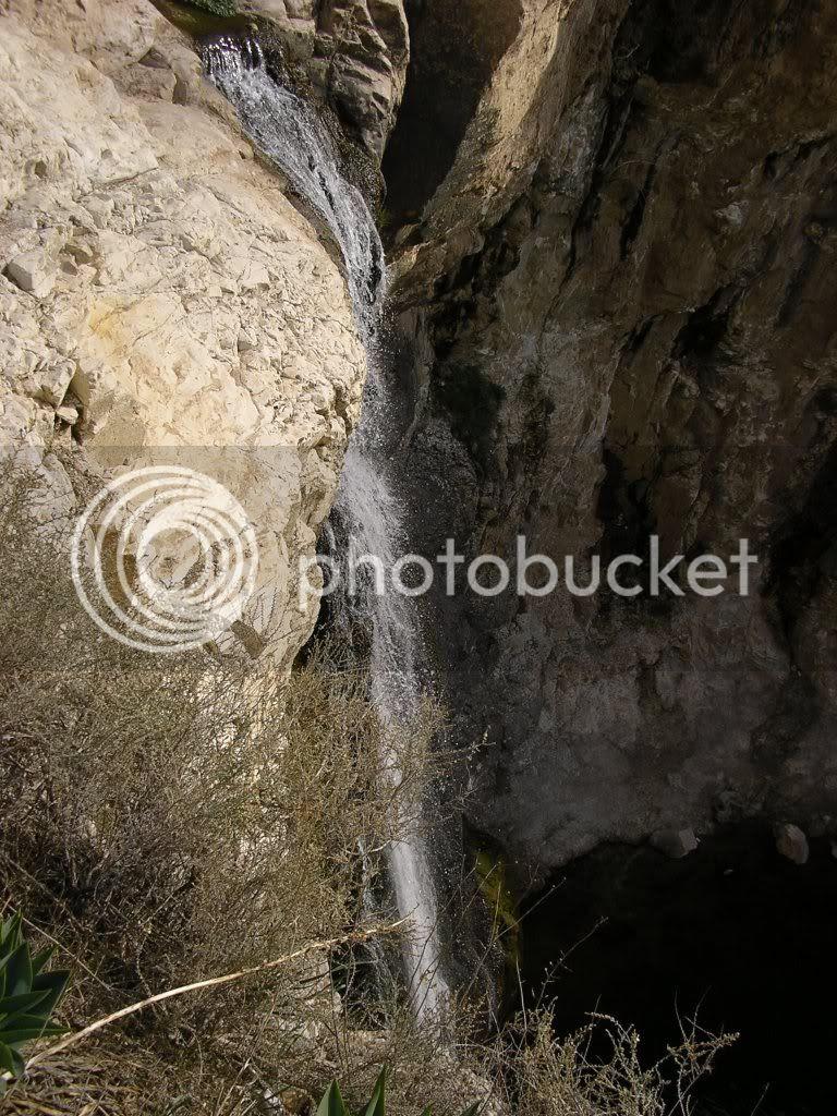 המפל הלבן בנחל אל-על