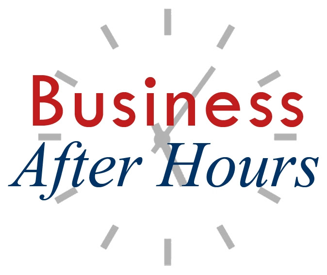 Business After Hours red white & blue