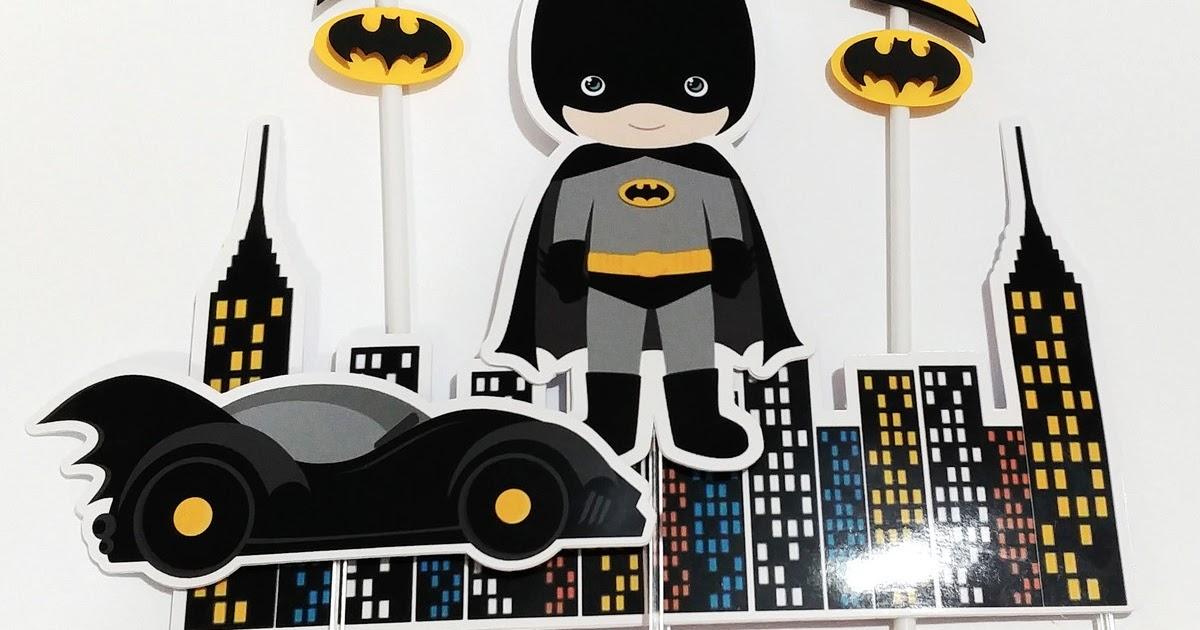 Topo De Bolo Do Batman Baby Para Imprimir
