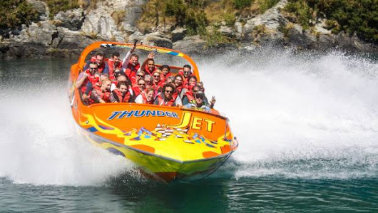 New Thunder Jet boat is Queenstown's largest