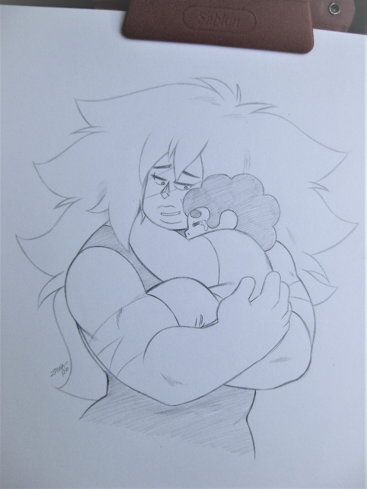 """Don't cry, Steven"""
